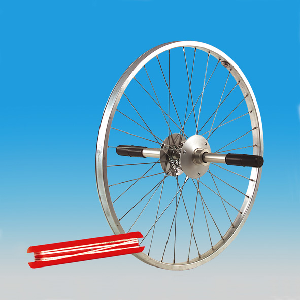 Bike-wheel gyroscope