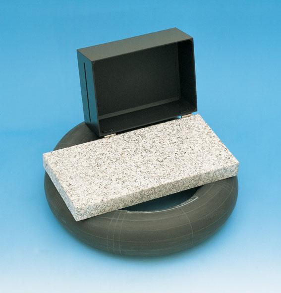 Laser optics base plate