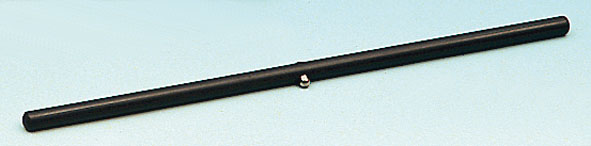Plastic rod with bearing pan