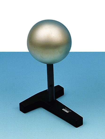 Sphere on insulated stand rod