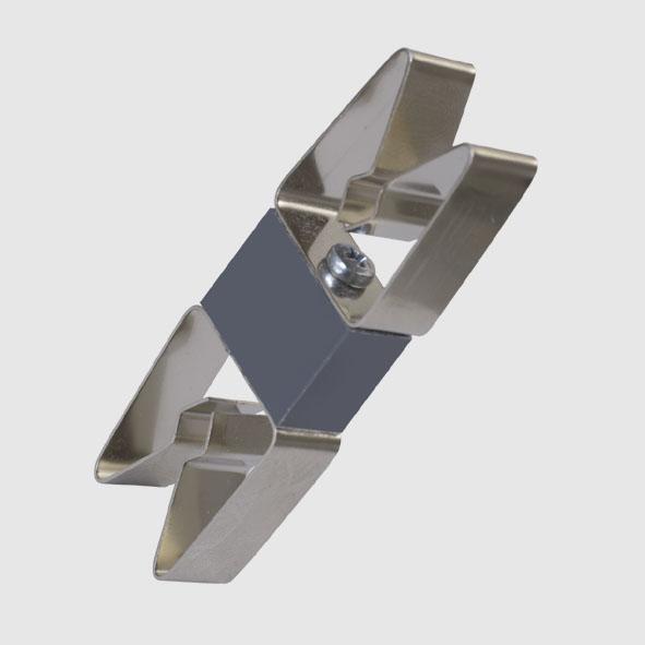 Double spring clip