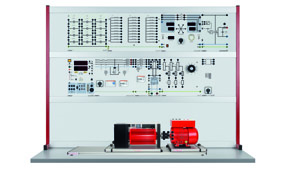 Synchronious Machine with permanent  Excitation IPM and Frequency Converter 0,3